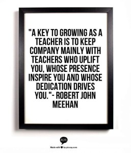 Teachers inspire other teachers