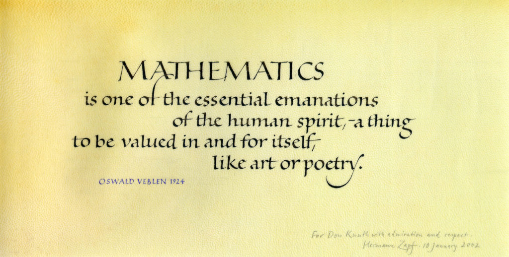 Mathematics as human pursuit